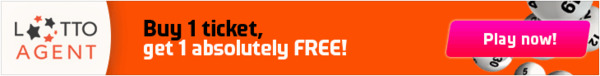 Lotto Agent Promotion Buy One Lottery Ticket Get One Free