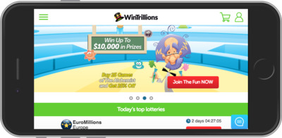 WinTrillions.com Mobile Review
